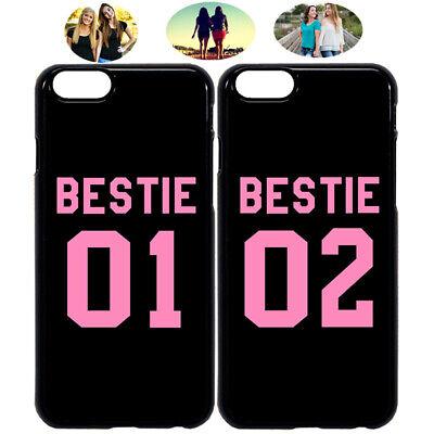 official photos aa513 29a02 Bestie 01 & Bestie 02 Best Friend Phone Case Cover For iPhone X XR 6 7 8 S9  S10+ | eBay