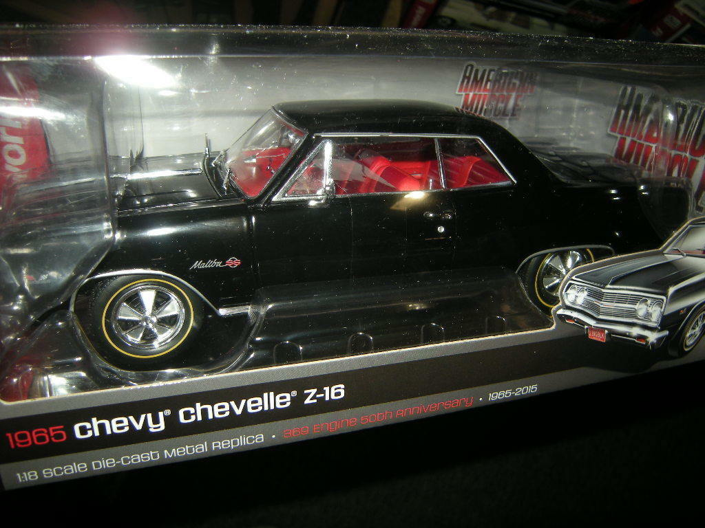 1 18 autoworld Chevy Chevelle z-16 1965 Tuning Limited edition 1 of 1002 in neuf dans sa boîte