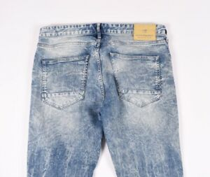 Scotch& Soda Skim Extensible Skinny Hommes Jean Taille 33/34
