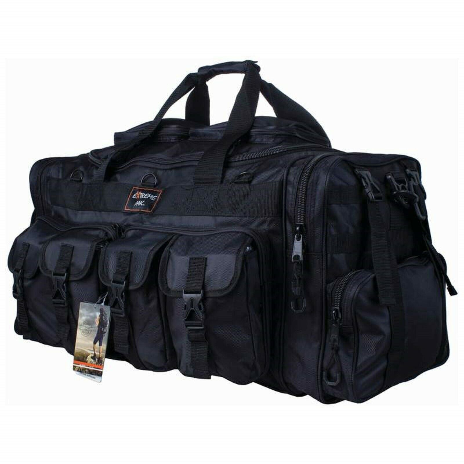 30  Tactical Tote Bag Extreme Pak Range Shooting Camping Utility Water Resistant