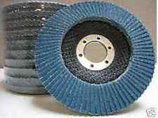 "10-PC 4-1/2""x7/8  Flap Disc Grinding Wheel 60 Grit New"