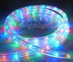 Multicolour led rope light outdoor lights chasing static christmas image is loading multicolour led rope light outdoor lights chasing static aloadofball Image collections