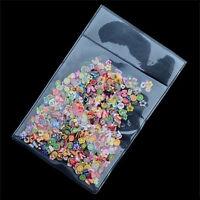 1000PCS 3D Fruit Fimo Slice Clay DIY Nail Art Tip Sticker Decoration EW