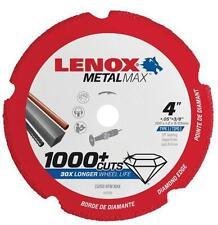 "NEW LENOX 1972919 4""  3/8"" METALMAX GRINDER METAL CUTTING CUT-OFF WHEEL SALE"