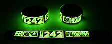 Front 242 NEW! Glow in the Dark Rubber Bracelet Wristband Headhunter gg230