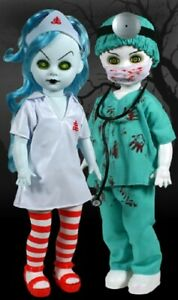 Charmant Living Dead Dolls-the Great Zombini Et Viv-double Cercueil Exclusive-scellé-afficher Le Titre D'origine