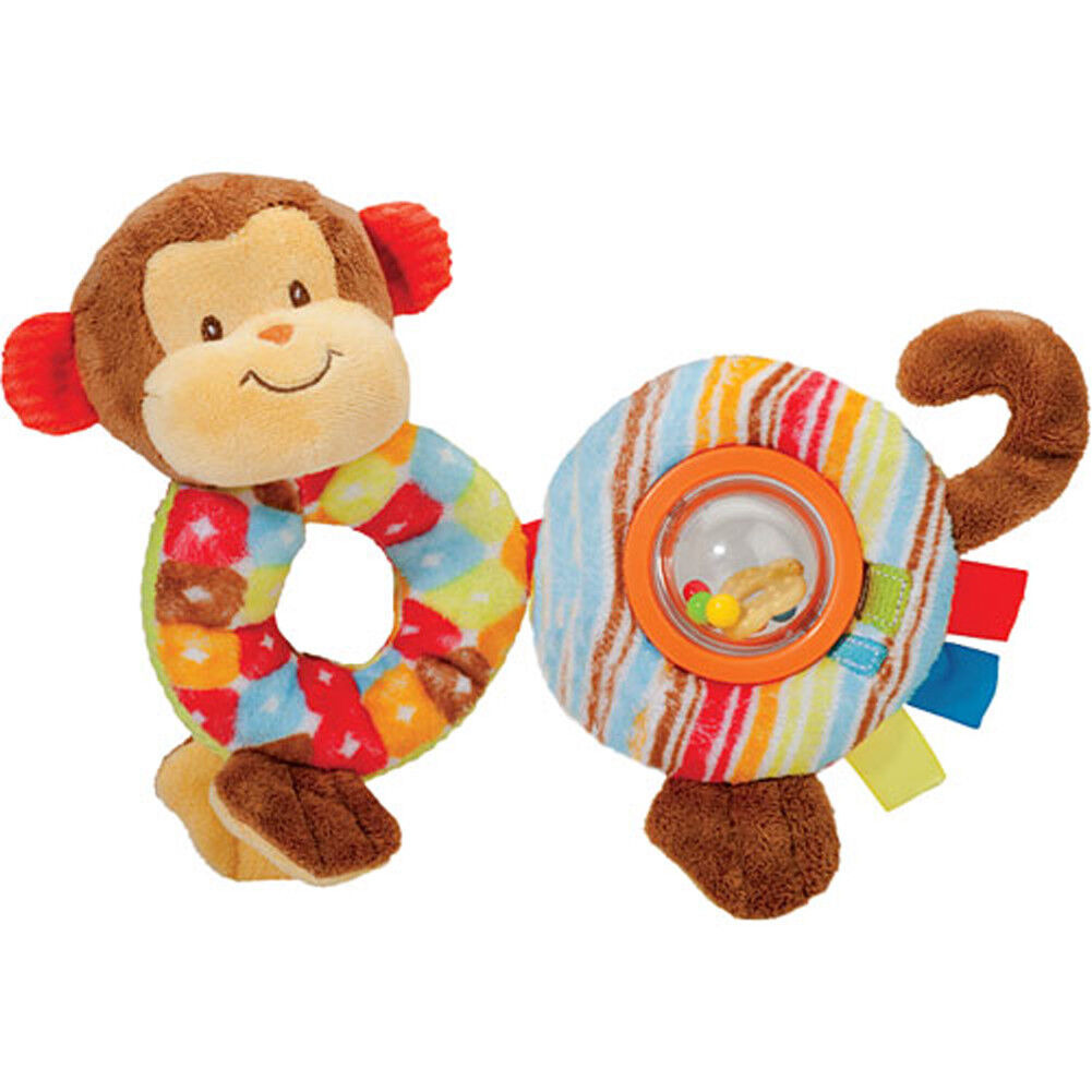 DOUGLAS Cuddle Toys Baby Playivity Monkey Loopee - 6022 NEW