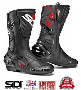 SIDI-Vertigo-2-Sports-Touring-Motorcycle-Motorbike-CE-Boot-Black-Size-42