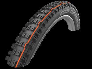Schwalbe Eddy Current Addix-Soft, SuperGravity, Tubeless Folding Mtn Bike Tire