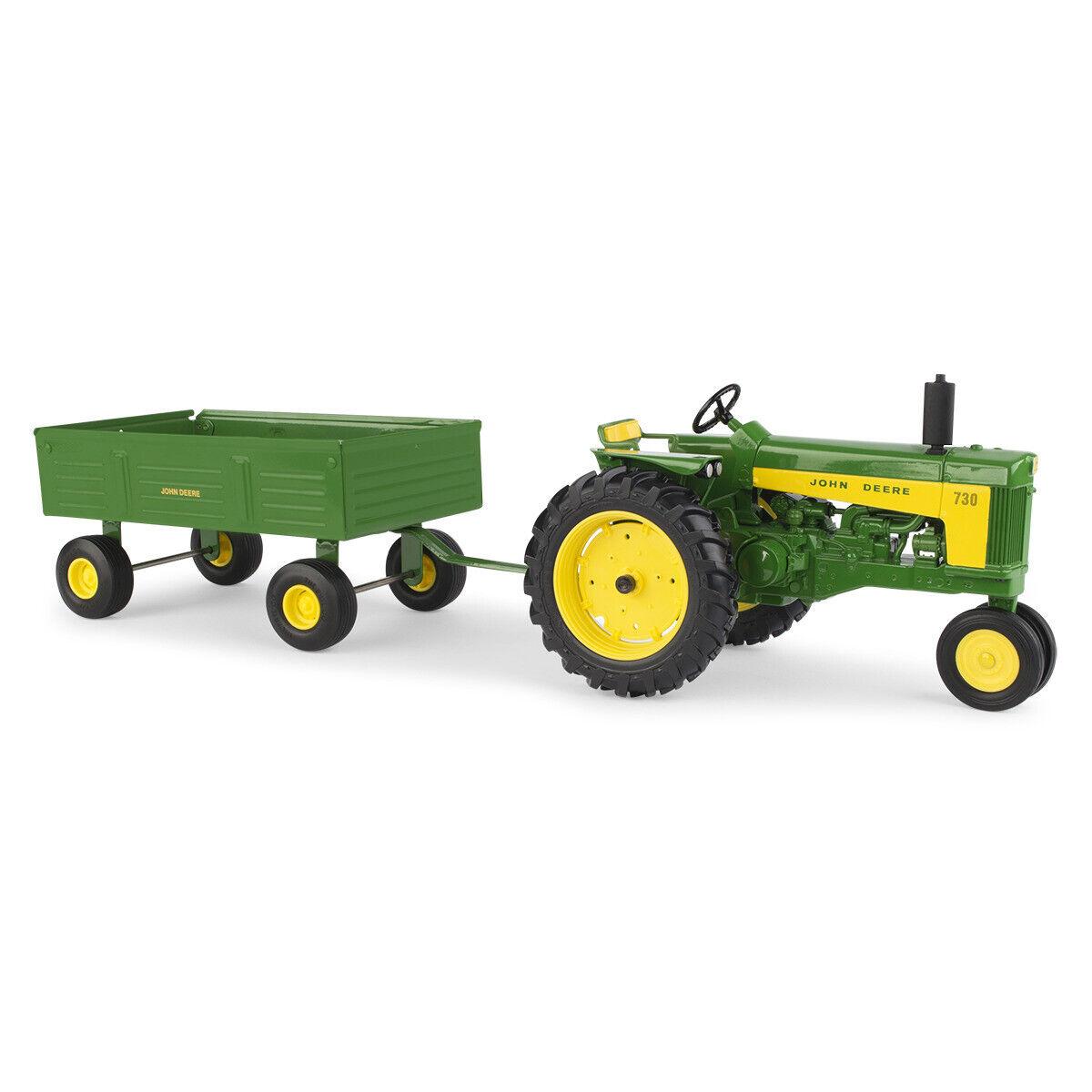 estar en gran demanda NEW John Deere 730 Tractor w Barge Wagon, Wagon, Wagon, Replica Jugar, 1 16, Ages 3+ LP70532  comprar mejor