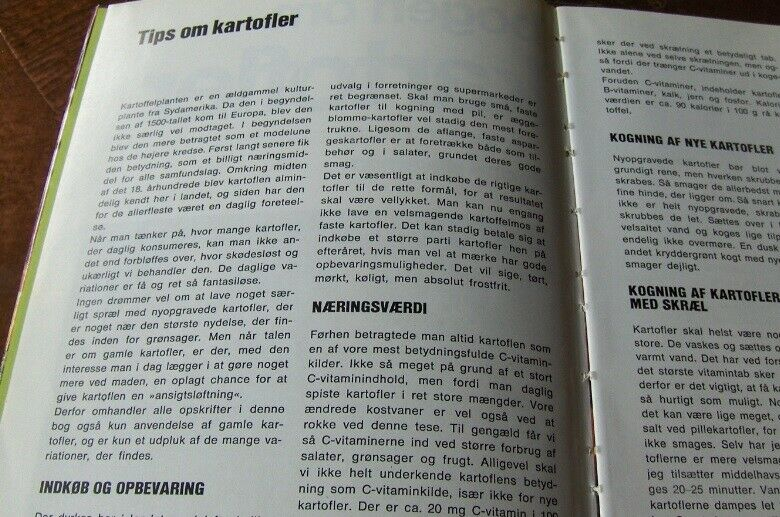 BOGEN OM KARTOFLER - LOTTE HAVEMAN, Lotte Haveman, emne: