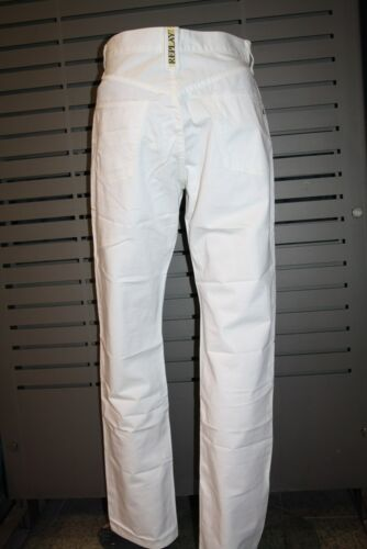 Recht Jeans Workwear White Replay Baumwolle M901 Weiss 100 a0dwOq