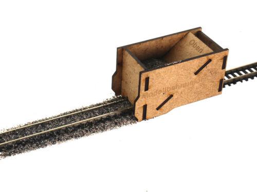 Modellbahn Union MU-Z-A00001 Z Schotterhilfe ohne Damm Lasercutbausatz