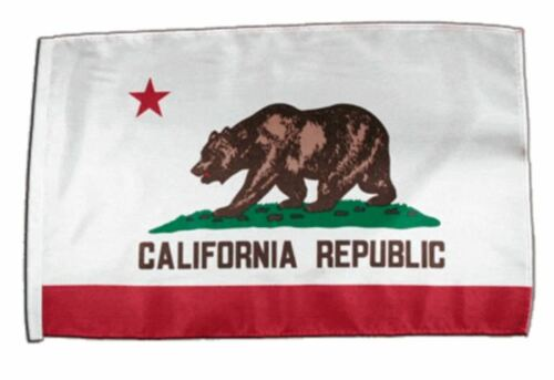 USA Kalifornien Banner kalifornische Fahnen Flaggen 30x45cm