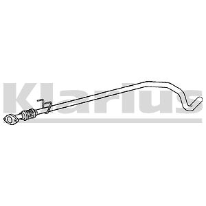 Replacement Exhaust Centre Link Pipe 2 Year Warranty Brand New!