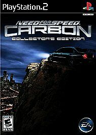 Need For Speed Carbon Collector S Edition Sony Playstation 2