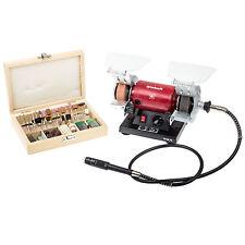 Einhell Doppelschleifer Mini Schleifbock Schleifmaschine Bohrmaschine Gravur Set