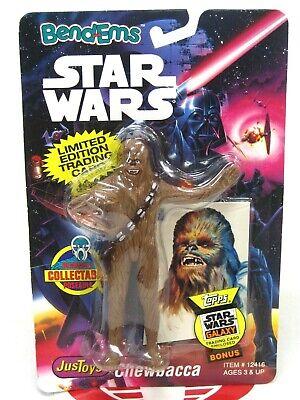 Star Wars Bend-ems Chewbacca 1993  MOC