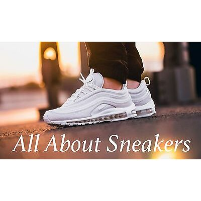 "Nike Air Max 97 OG QS ""White Summit"" Limited & Rare Edition All Sizes 921826-100"