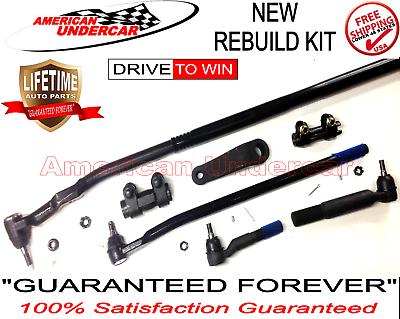 T Style Steering Set Inner Outer Tie Rod Drag Link Ram 2500 3500 XRF Lifetime