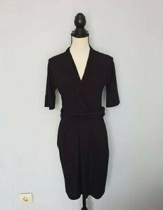 Damen-MARC-CAIN-Schwarz-Kleider-Kurzarm-Dress-Gr-N3