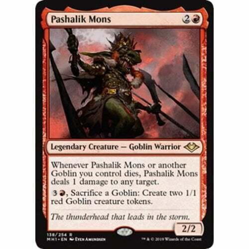 Pashalik Mons Modern Horizons Magic The Gathering