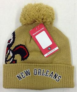 Details About Nba New Orleans Pelicans Adidas Cuffed Pom Knit Hat Cap Beanie Style Kzq48 New