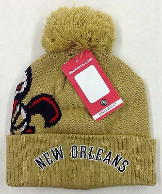 Nba New Orleans Pelicans Adidas Cuffed Pom Knit Hat Cap Beanie Style Kzq48 New 490475438901 Ebay