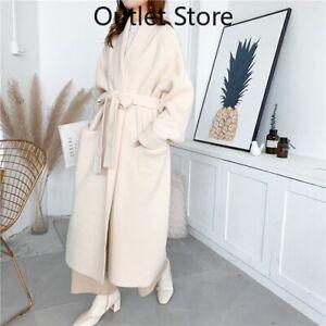 Alpaca-Knit-Cardigan-Jacket-Women-Winter-New-Wild-Mid-length-Sweater-Loose