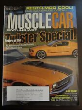 Muscle Car Enthusiast Magazine November 2007 Twister Mustang Special Z