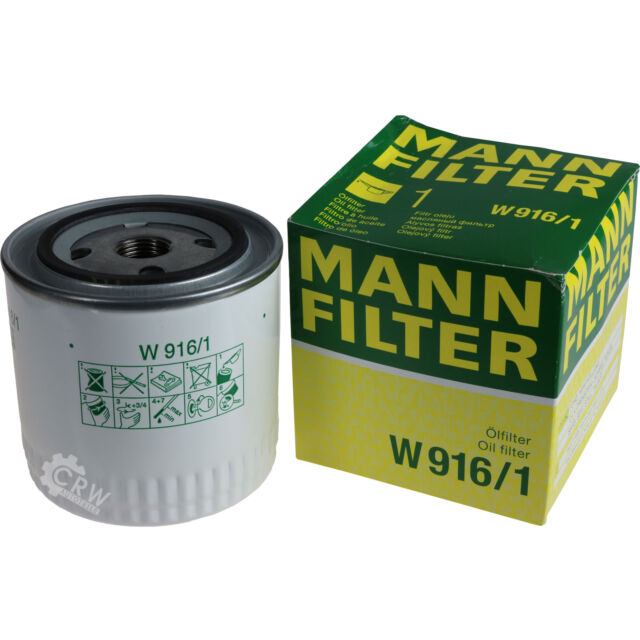 ORIGINALE MANN-FILTER FILTRO OLIO FILTRO W 916/1 OIL FILTER