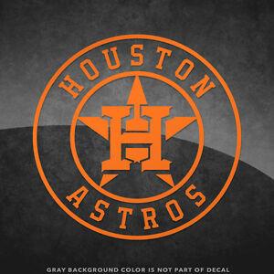 Houston Astros Logo Vinyl Decal Sticker And Larger Sizes - Custom vinyl decals houston