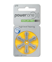 Powerone Power One Size 10 Hearing Aid Batteries (30 Batteries)