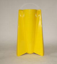 DANESE VASE ENZO MARI 1969 PAGO PAGO italy yellow gelb