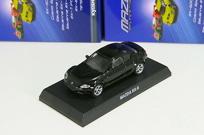 Kyosho 1/64 Mazda RX-8 SE3P Black Rotary Engine Minicar Collection 2013