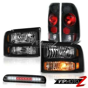 Image Is Loading 2005 2006 2007 Ford F250 Xl Black Headlamps