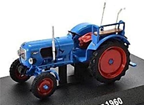 Eicher Tiger 1960 Tracteur Remorqueur Bleu Blue 1:43