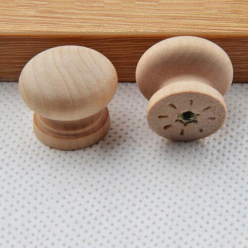 Drawer Knobs Handles IN9 Pack Of 10 Beech Wooden Door