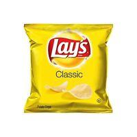 Lays Classic Potato Chips 50 Bags Case Vending Single Serve 1 Oz