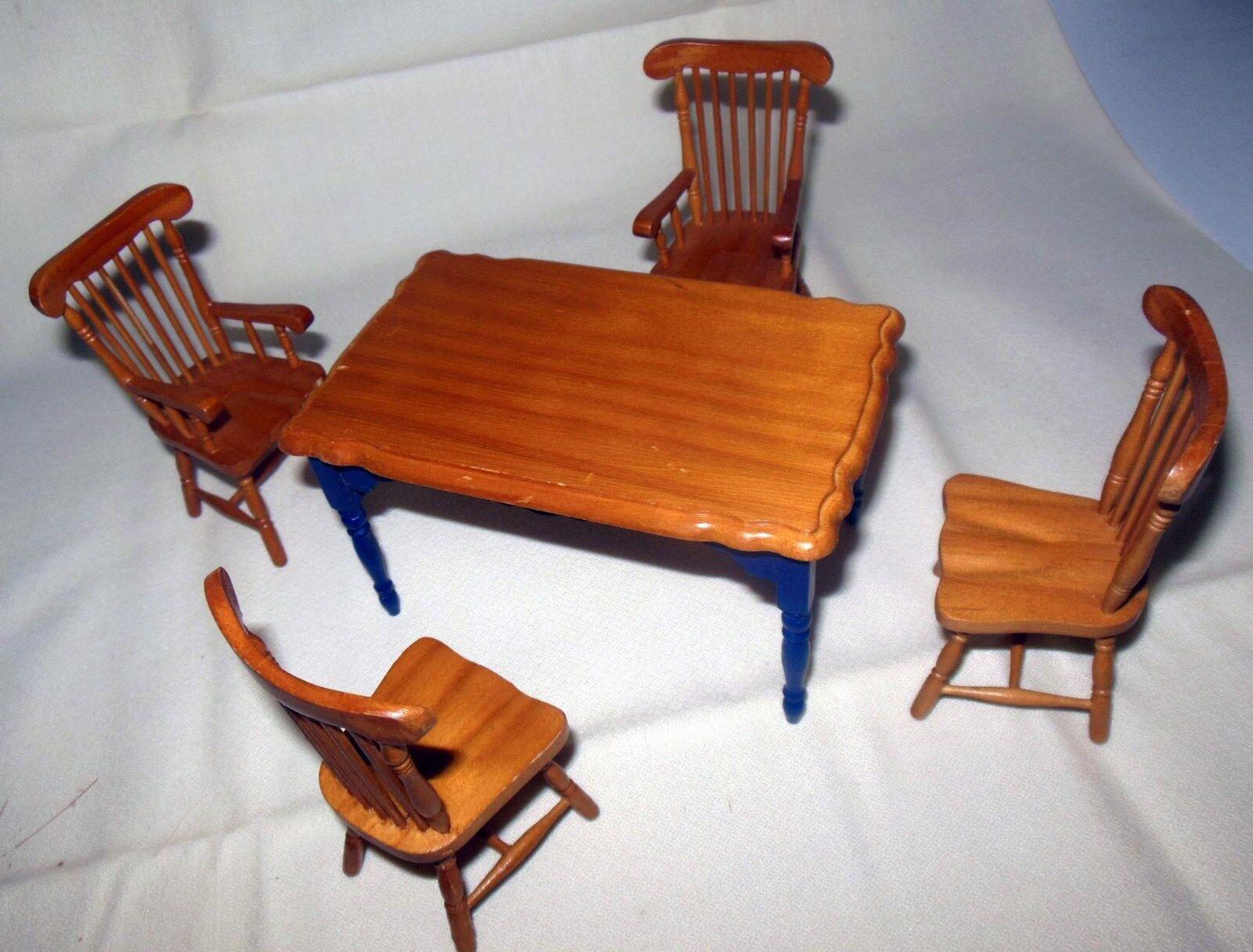 comprare sconti VINTAGE BENNINGTON TABLE SET     1214 bambolaHOUSE FURNITURE MINIATURES  liquidazione fino al 70%