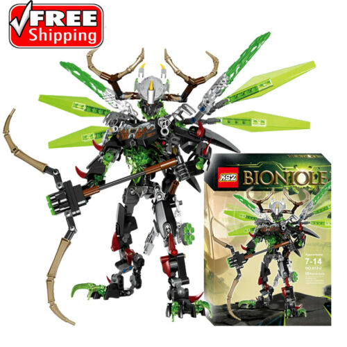 BIONICLE 261pcs Umarak Uxar figures Building Block Toys 71310+71300 Toys Gift
