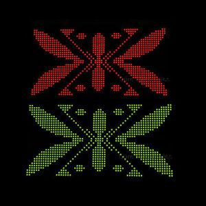 10pcs-8x8-Dot-Matrix-3mm-dia-Bicolor-LED-Display