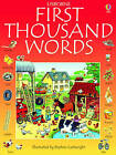 First Thousand Words in English by Heather Amery (Paperback, 2009)