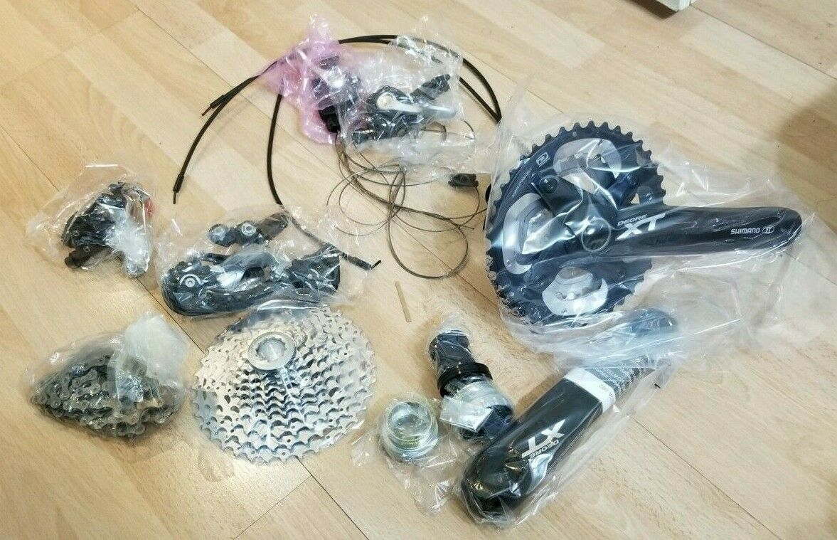 Shimano  XT M785 Transmission groupset - 11-36 28 40   175mm New - Open Box  best choice