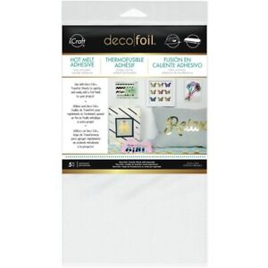 5-Thermoweb-icraft-Deco-Foil-Hot-Melt-Adhesive-Sheets-for-Fabric-amp-Paper-5-5x12