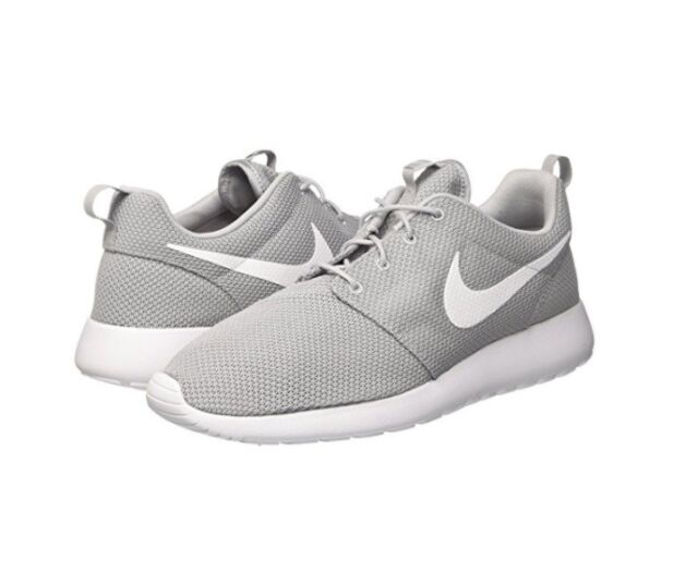 NEW MEN NIKE ROSHE ONE WOLF GREY WHITE RUNNING SHOES AUTHENTIC 511881-023 ab92f6ab5ac