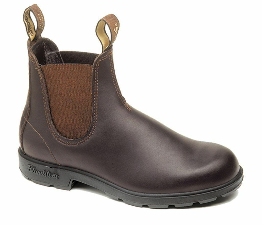 NEW bluendstone Style 500 Stout Brown Premium Leather Boots For Men