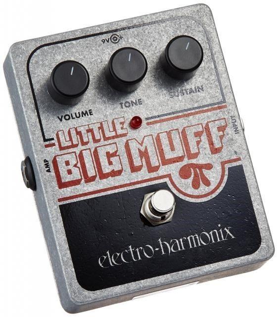 Electro Harmonix Harmonix Harmonix Muff PI distorsión Little Big Sustainer con Batería EHX 3c130b