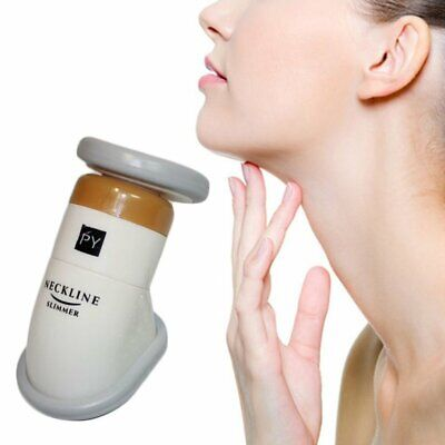 Portable Neckline Slimmer Chin Massager Thin Jaw Reduce Double Chin With Bag R#