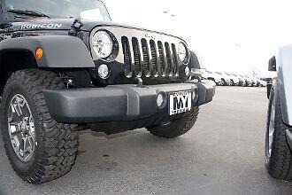 2008-2018 Jeep Wrangler JK Removable Front License Plate Bracket STO N SHO
